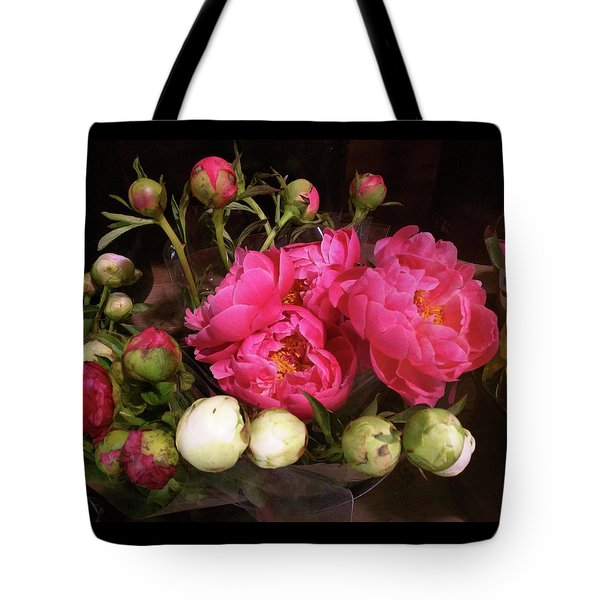 Beauty In The Whole Foods Flower Dept. Tote Bag