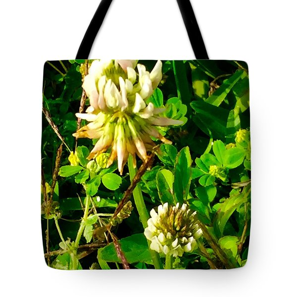Beauty In Weeds Tote Bag
