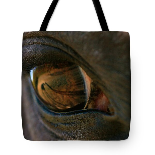 Beauty Is In The Eye Of The Beholder Tote Bag