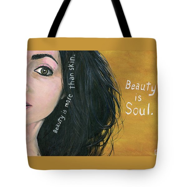 Beauty Is Soul Tote Bag