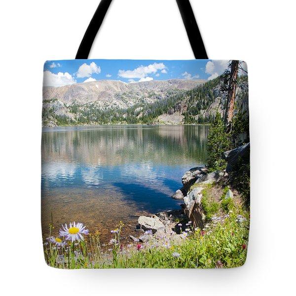 Beauty Lake Tote Bag