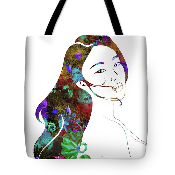 Beauty Lingers Tote Bag