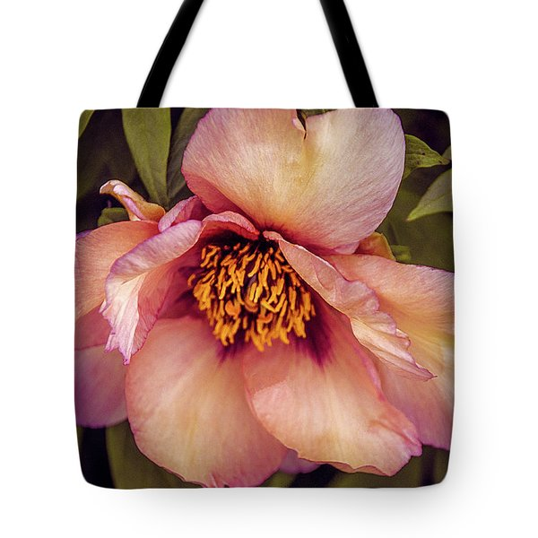 Tote Bag featuring the photograph Beauty Of A Peony  by Julie Palencia