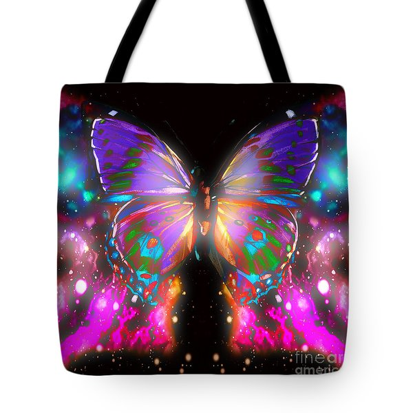 Beauty Of Butterfly Tote Bag