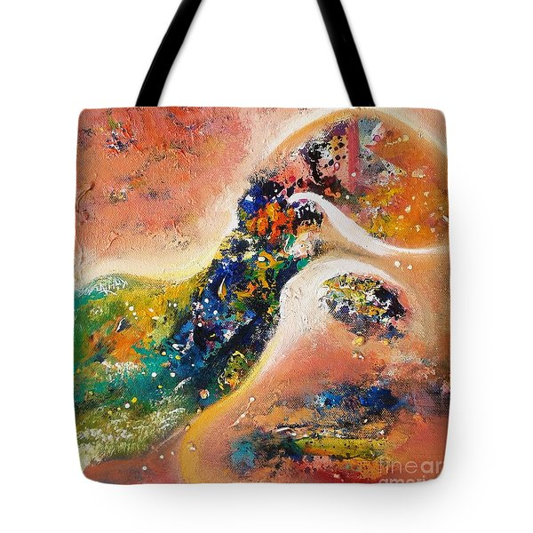 Beauty Of Mirage Tote Bag