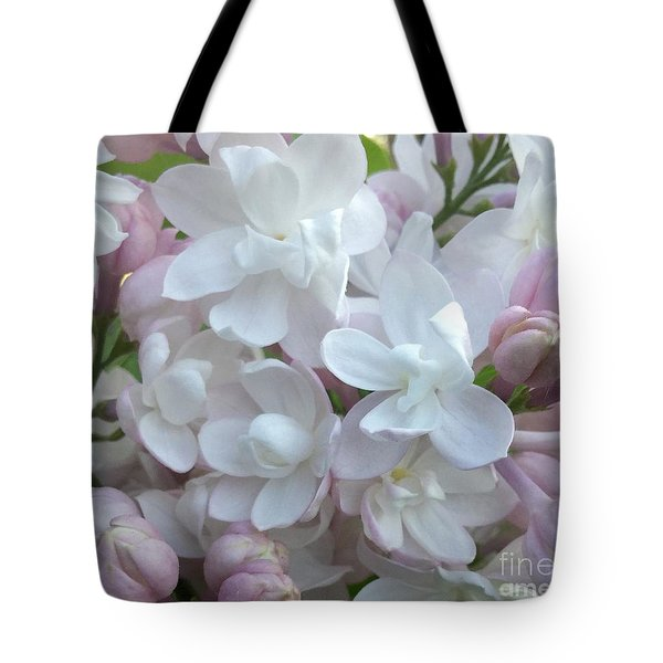 Beauty Of Moscow Lilac Maine Spring 2015 Tote Bag