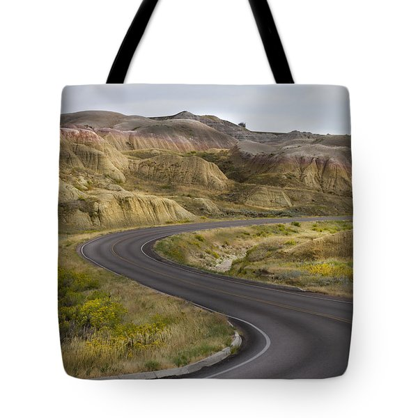 Tote Bag featuring the photograph Beauty Of The Badlands South Dakota by John Hix