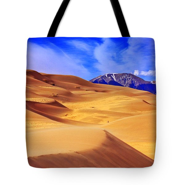 Beauty Of The Dunes Tote Bag by Scott Mahon