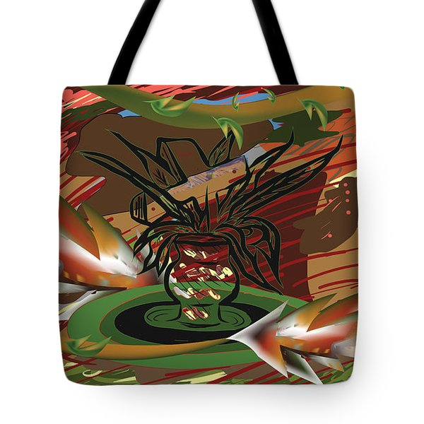 Beauty Of The Garden Tote Bag