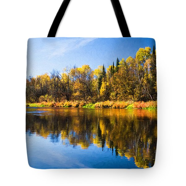 Beauty On The Big Fork Tote Bag