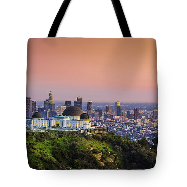 Beauty On The Hill Tote Bag