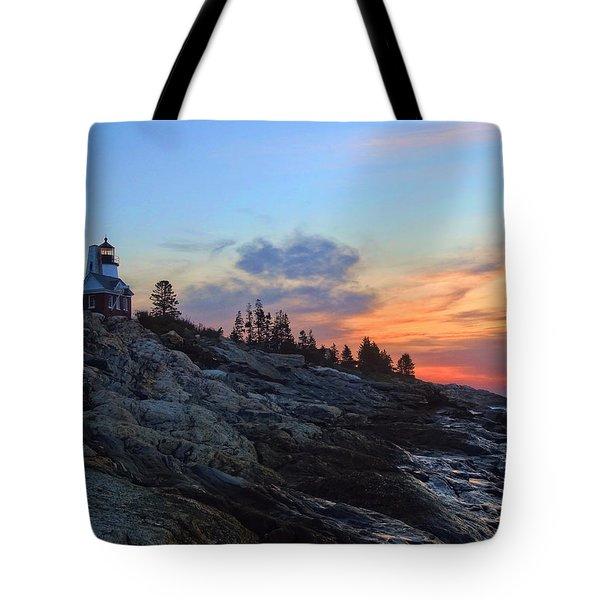 Beauty On The Rocks Tote Bag