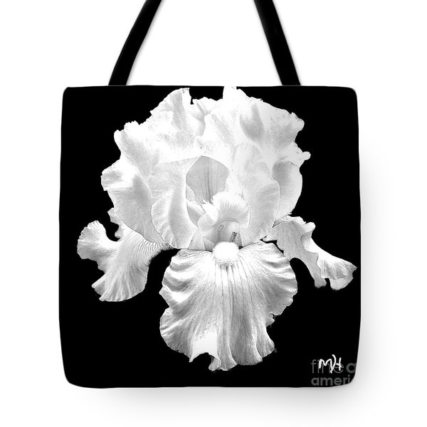 Beauty Queen In Black And White Tote Bag