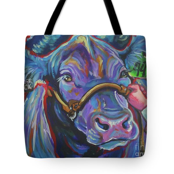 Tote Bag featuring the painting Beauty Queen by Jenn Cunningham