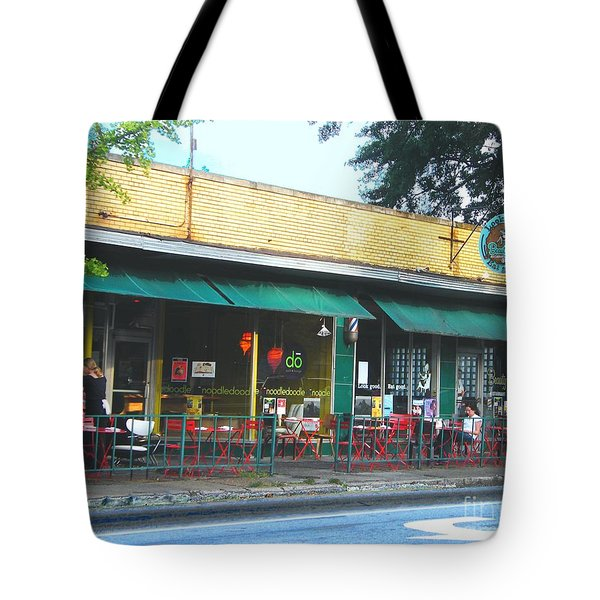 Beauty Shop And Do  Cooper Young Memphis Tote Bag