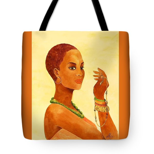 Beauty Stance Tote Bag