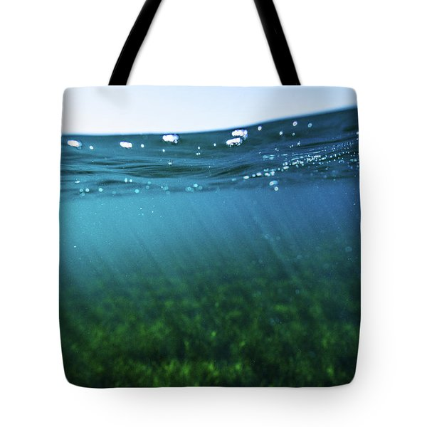 Beauty Under The Water Tote Bag