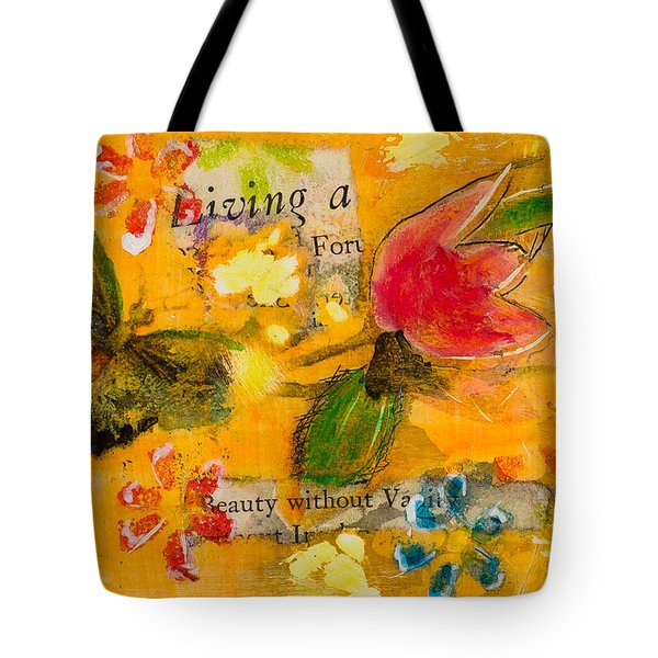 Beauty Without Vanity Tote Bag