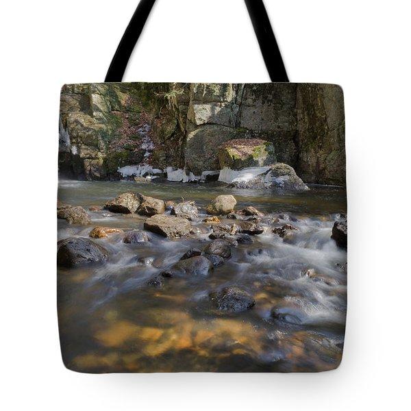 Beaver Brook Falls Tote Bag