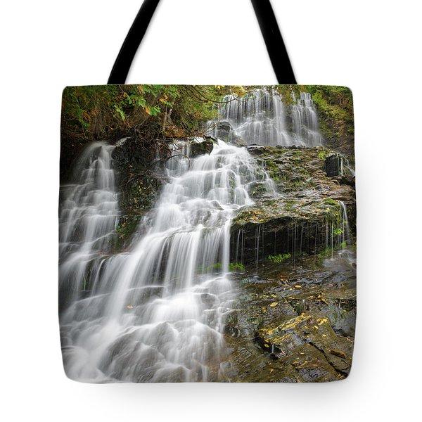 Beaver Brook Falls - Colebrook New Hampshire Tote Bag