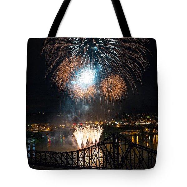 Beaver County Fireworks 2 Tote Bag