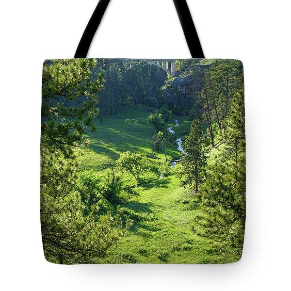 Beaver Creek In The Spring Tote Bag