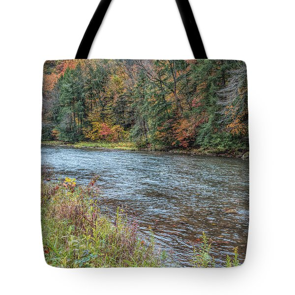 Tote Bag featuring the photograph Beaver Creek by John M Bailey