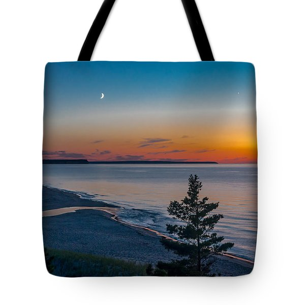 Beaver Creek Sunset Tote Bag
