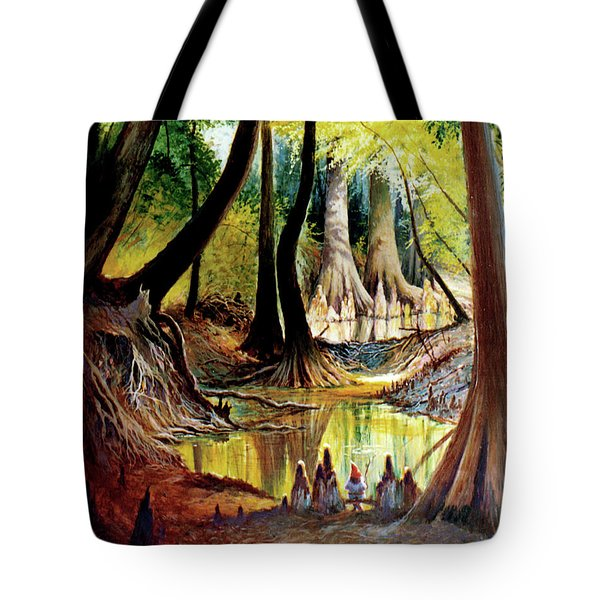 Beaver Dam On Village Creek Tote Bag