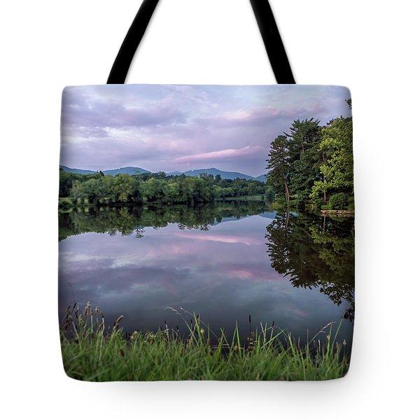 Beaver Lake Reflections Tote Bag