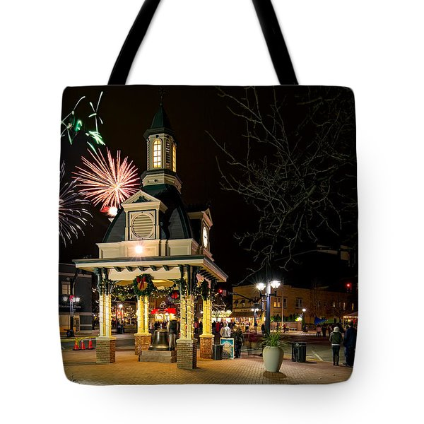 Beaver Light Up Night  Tote Bag