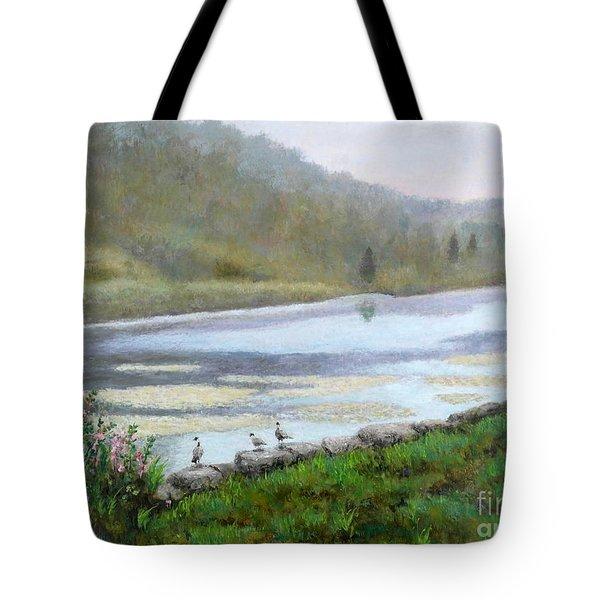 Beaver Pond Tote Bag
