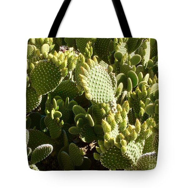 Beaver Tail Cactus, Cave Creek, Arizona Tote Bag