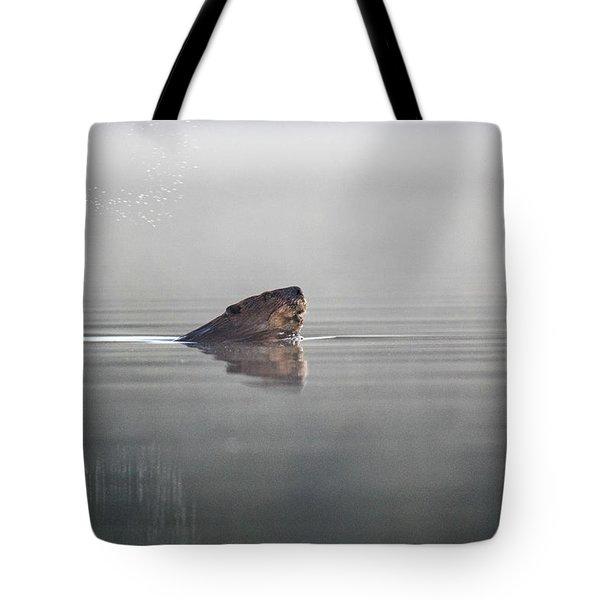 Beaver Tail Tote Bag