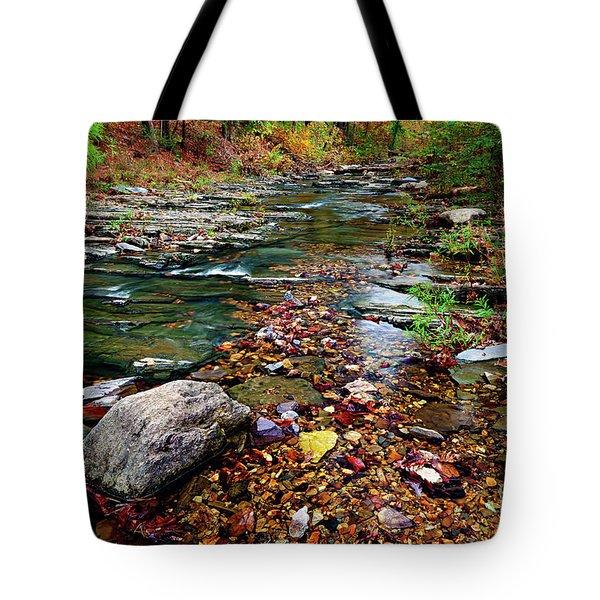 Beaver's Bend Tiny Stream Tote Bag