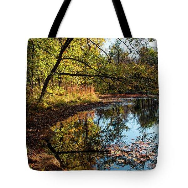 Beaver's Pond Tote Bag