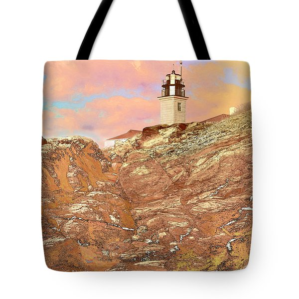 Beavertail Looking Surreal Tote Bag