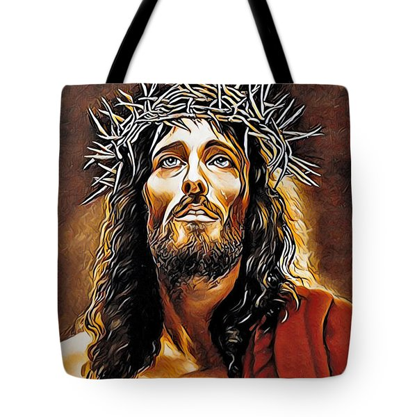 Because He Loves You Tote Bag