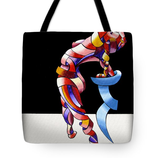 Tote Bag featuring the painting Becca 208-08 by Mark Webster