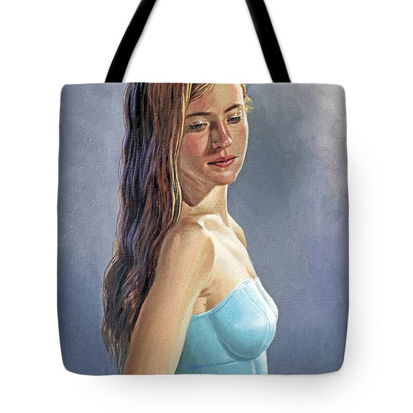 Becca-different Hairdo Tote Bag