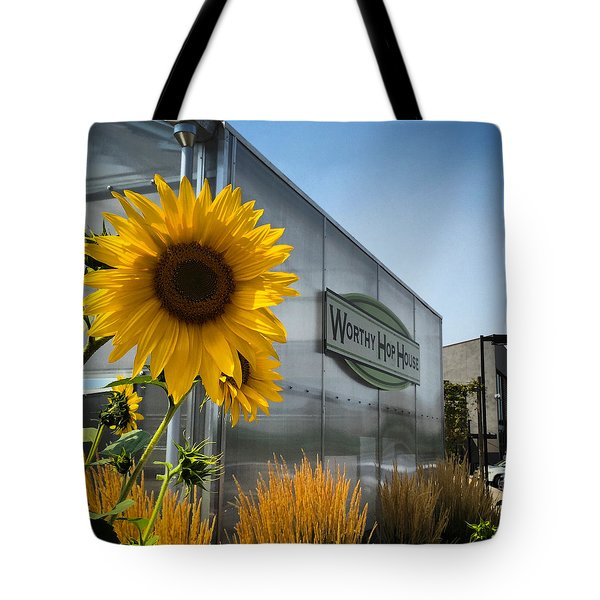 Becca's Sunflower Tote Bag