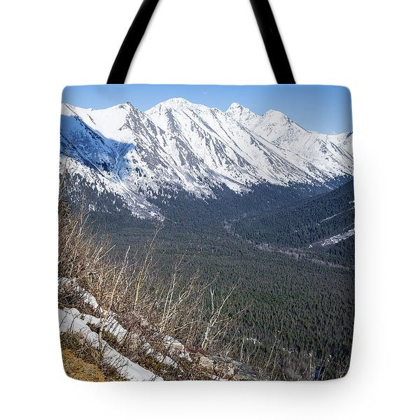 Beckoning Valley Tote Bag
