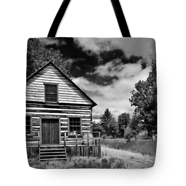Beckwourth Cabin Tote Bag
