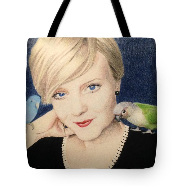 Becky And Friends Tote Bag