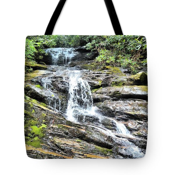 Becky Branch Falls In Summer Tote Bag