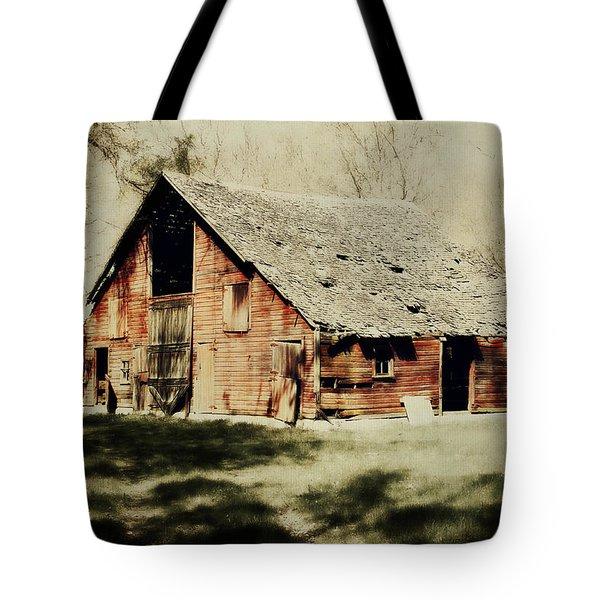Beckys Barn 1 Tote Bag by Julie Hamilton