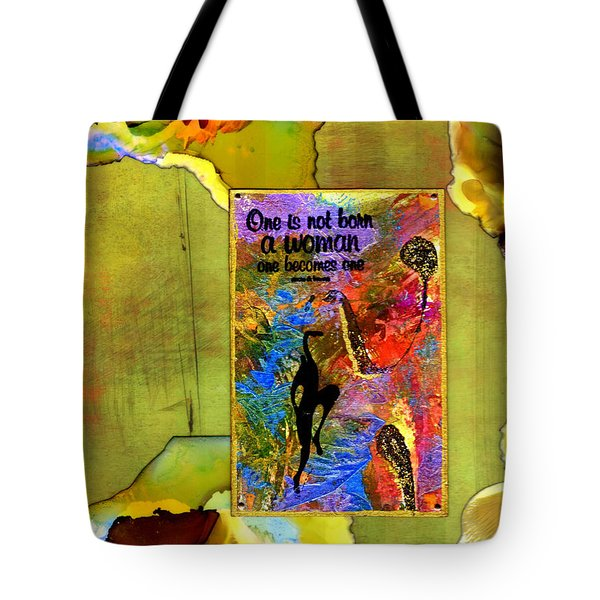 Becoming A Woman Tote Bag
