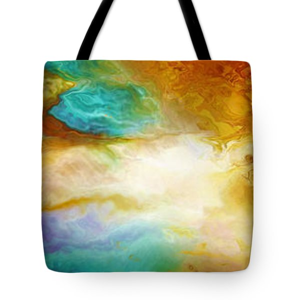 Becoming - Abstract Art Tote Bag by Jaison Cianelli