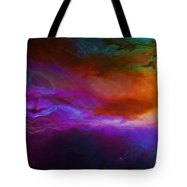 Becoming - Abstract Art - Triptych 1 Of 3 Tote Bag by Jaison Cianelli