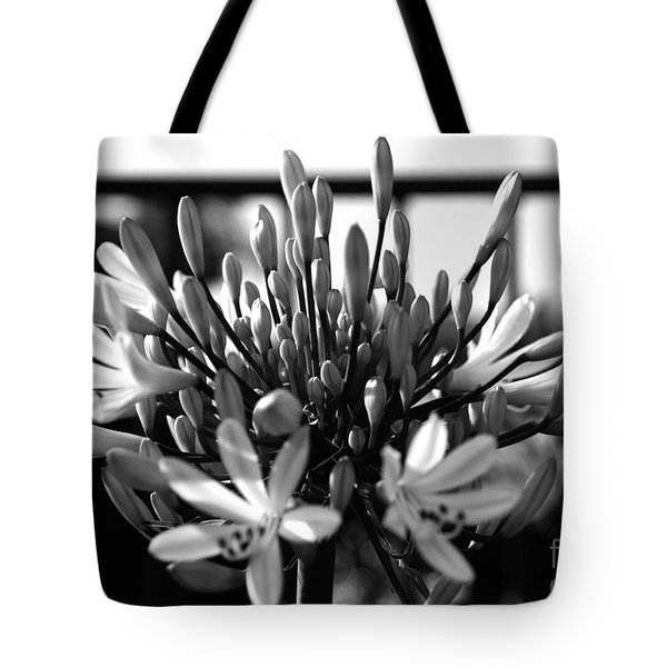 Becoming Beautiful - Bw Tote Bag